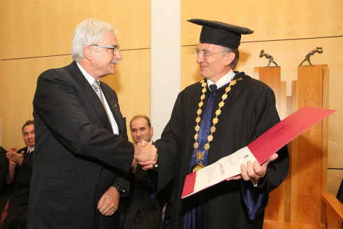 "Towards entry ""Honorary Doctorate for Professor Alfred Leipertz"""